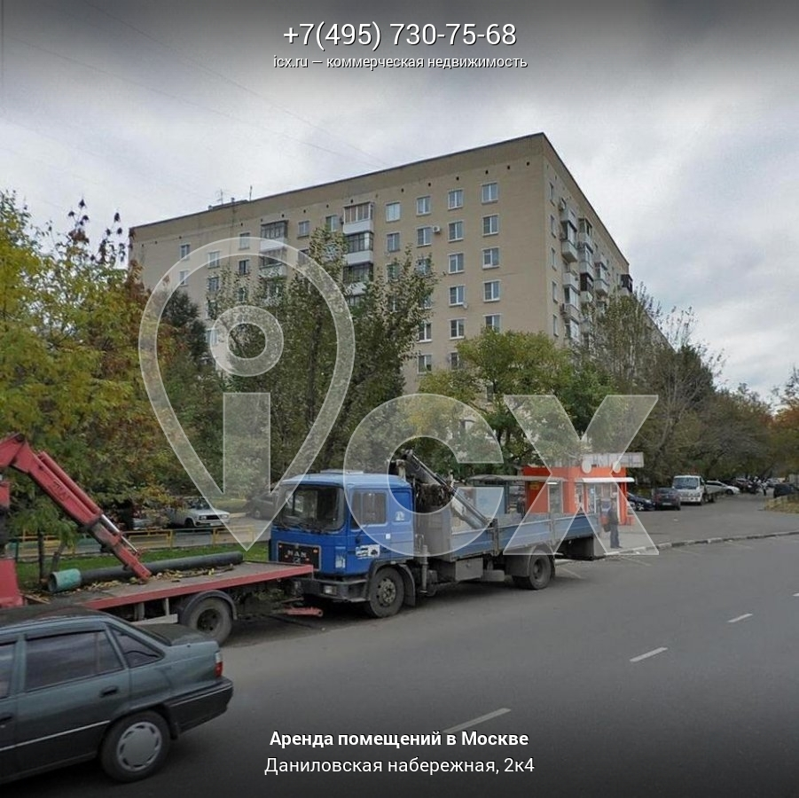 Аренда офиса 7 кв Даниловская набережная снять помещение под офис Бронницкий переулок